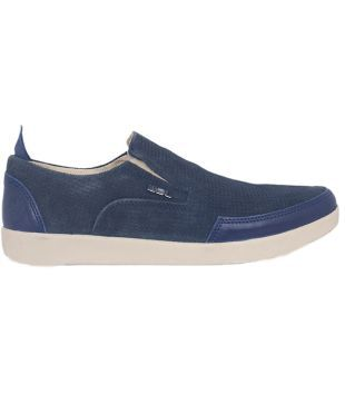 Woodland Navy Blue Casual Shoes - Buy