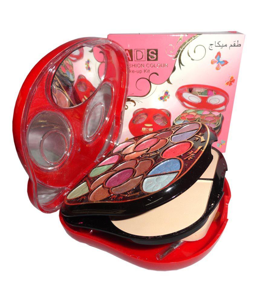 ADS Makeup Kit 21 Eyeshadow 2 Powder Cake 4 Lip Colour 2 Blusher: Buy ADS Makeup Kit 21 Eyeshadow 2 Powder Cake 4 Lip Colour 2 Blusher at Best Prices in ...