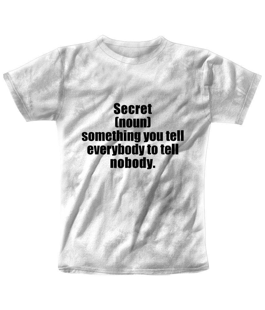 Freecultr Express White Secret Printed T Shirt