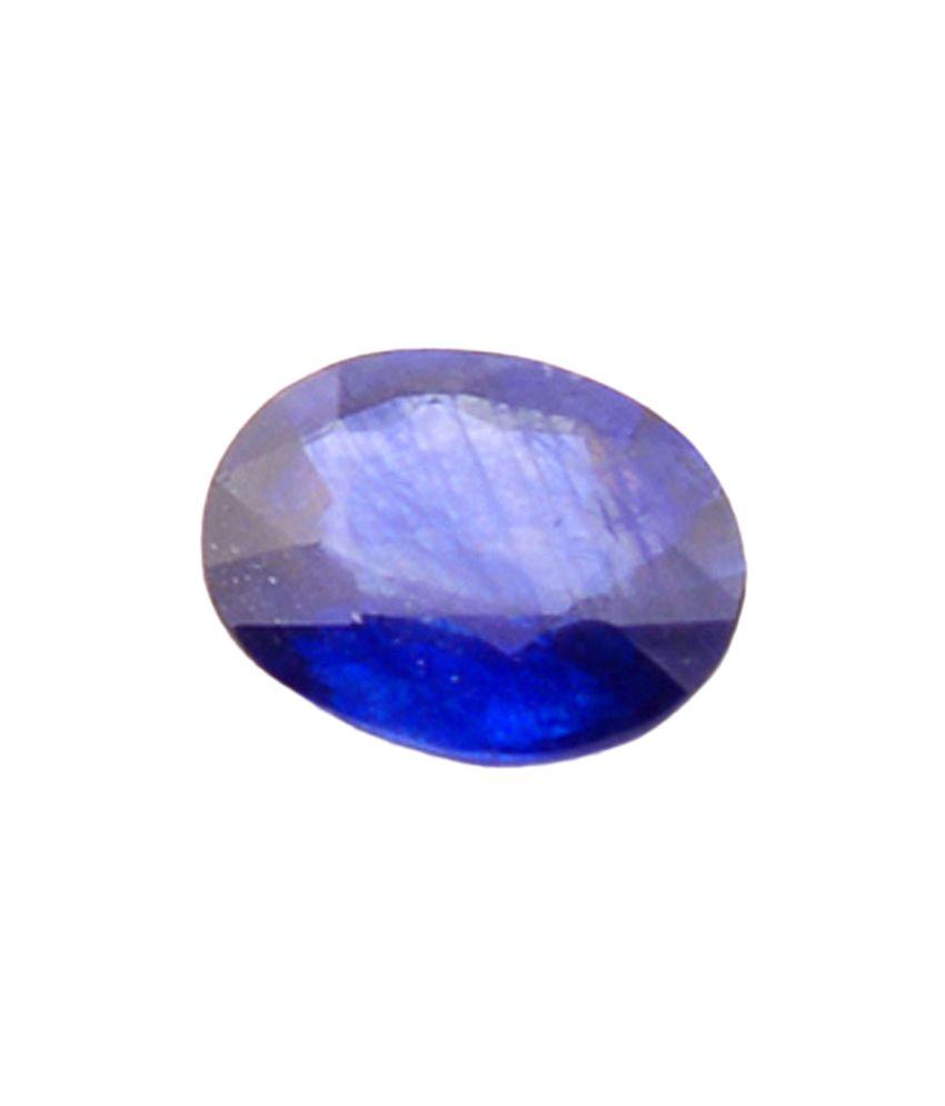 Shiva Rudraksha Ratna Natural Blue Sapphire - 5.26 Carat