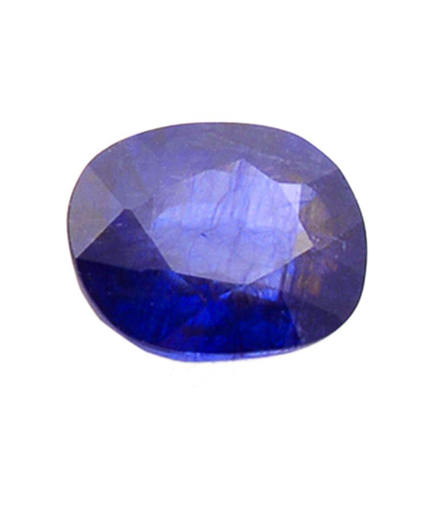 Shiva Rudraksha Ratna Natural Blue Sapphire - 6.44 Carat