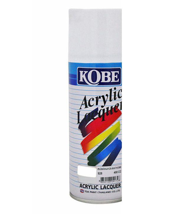 Spedy Kobe Car Touchup Spray Paint 400ml White Maruti Alto