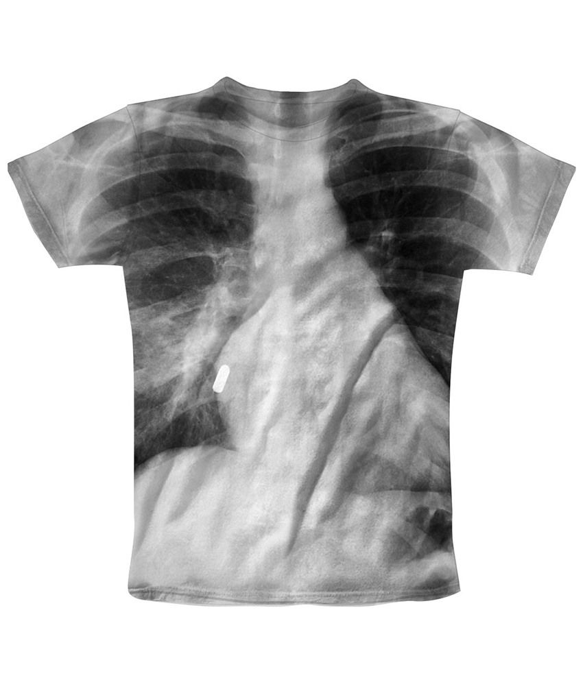 Freecultr Express Gray Bullets Printed T Shirt