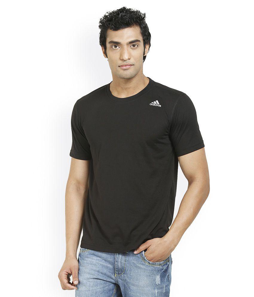 Adidas Men's Round Neck  Plain T-Shirts