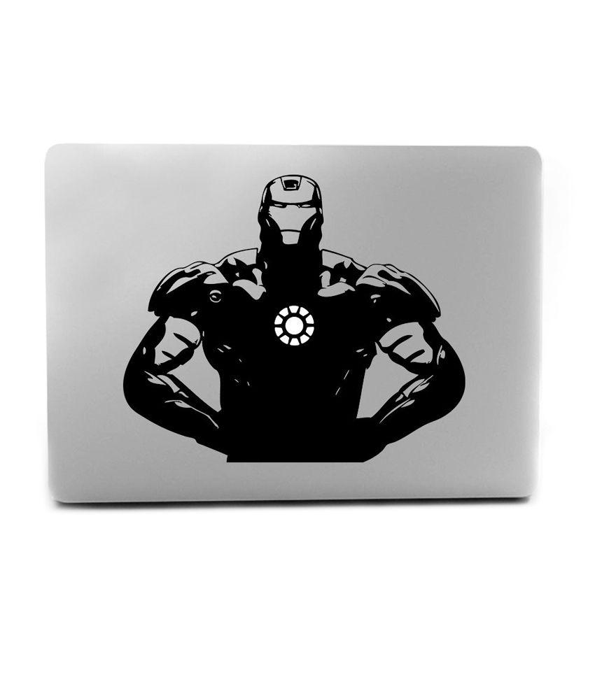 f78a1bea4a46 Iron Man Cool Apple Macbook Mac Sticker Skin Decal Vinyl for 13, 15 ...