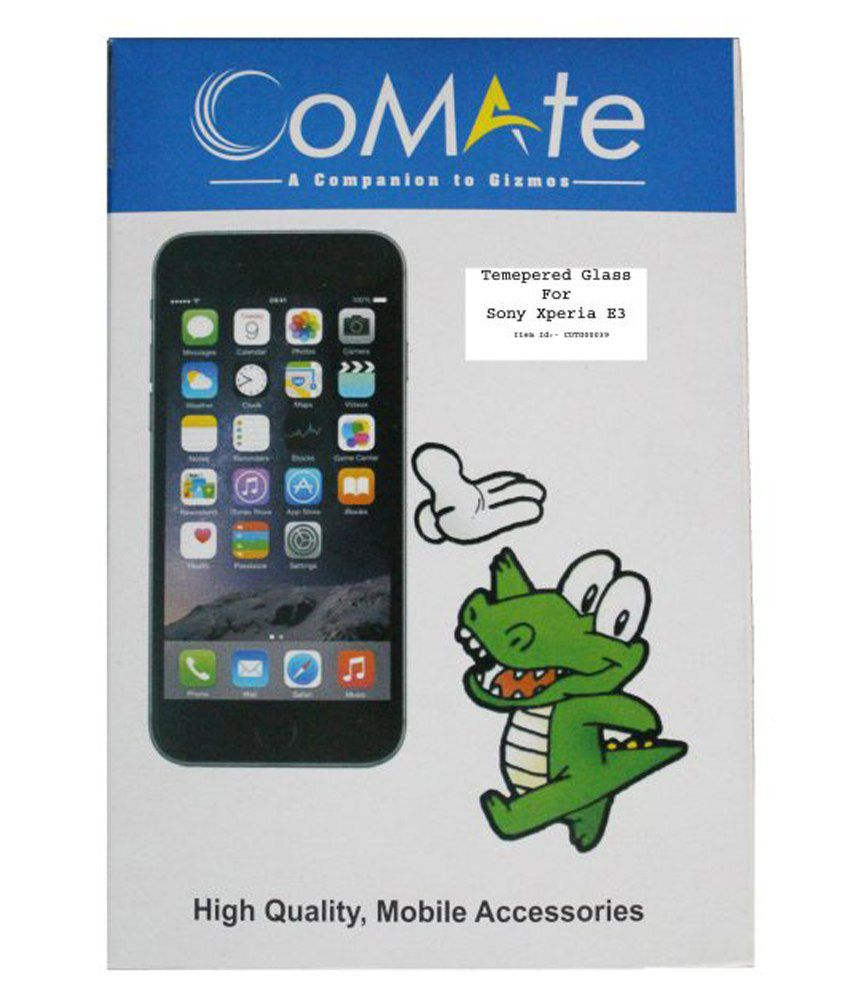 Sony Xperia E3 Tempered Glass Screen Guard by Comate