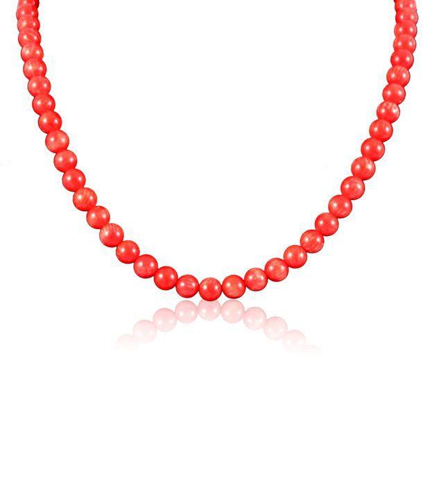 Swanvi Multicolour Contemporary Alloy Antique Dailywear Fruity Orange Necklace