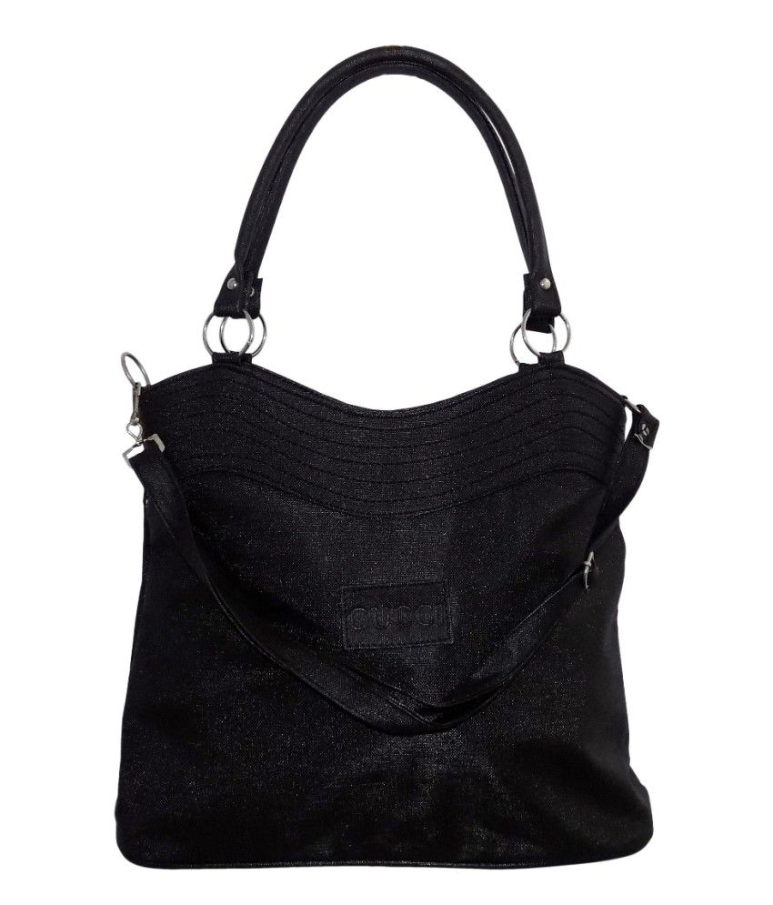 Crafts'man Black Color Beautiful Women's Handbags