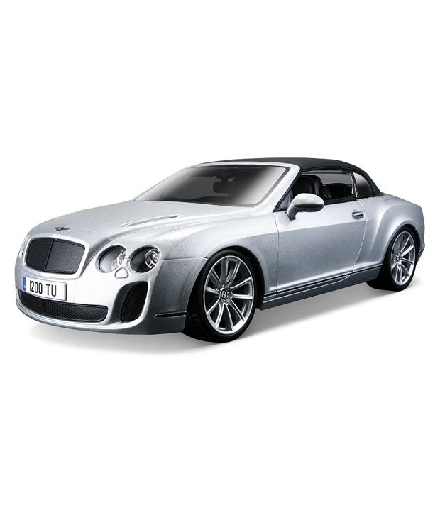 Bentley Convertible Price: Bburago Bentley Continental Supersport Convertible