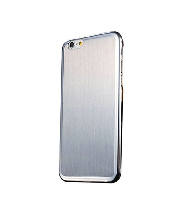 Excelsior Full Metal Back Cover for iPhone 6 (4.7 inch) - Silver