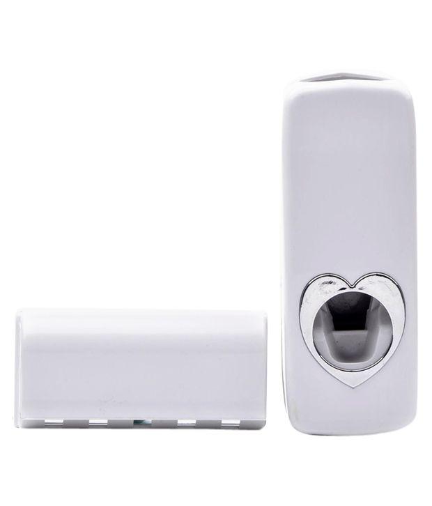 Liveologic Toothpaste Dispenser and Sensodyne Toothpaste Combo