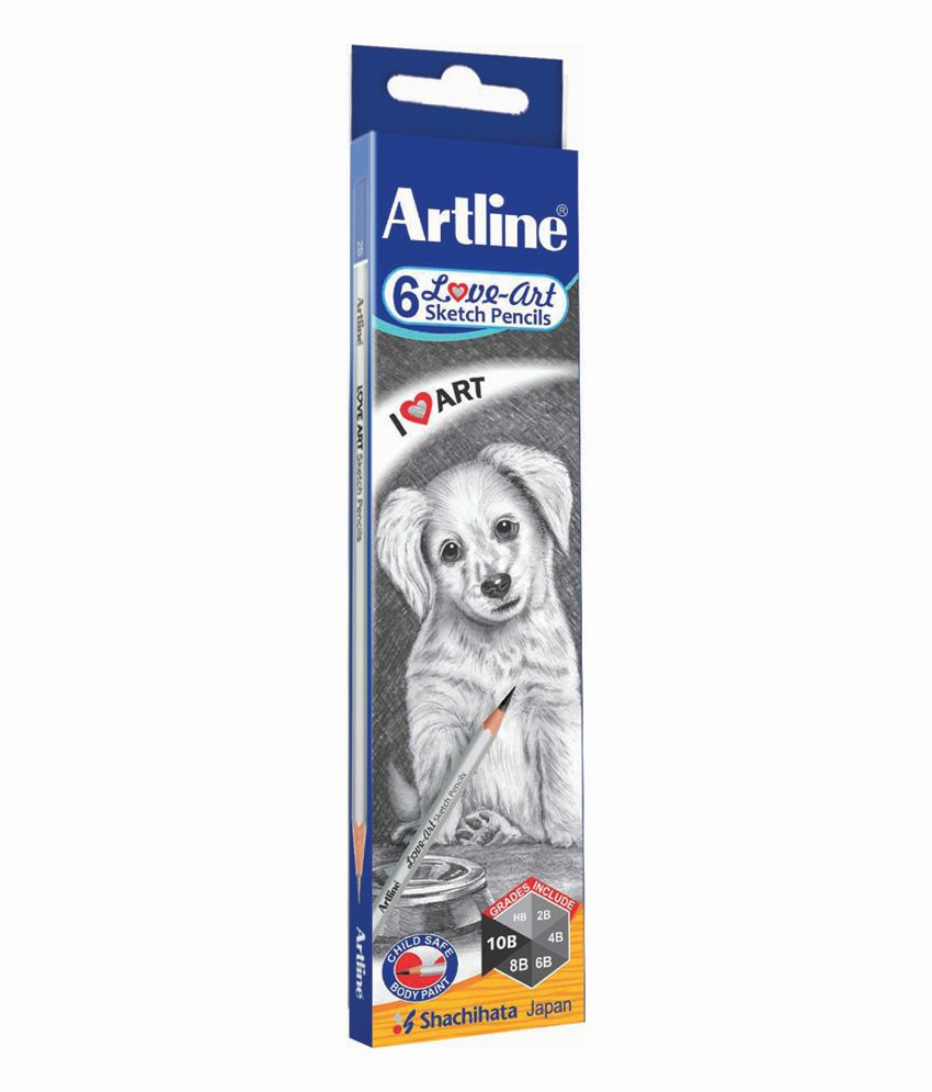 Art Line Questions : Artline sketch pencils pack of buy online at best price