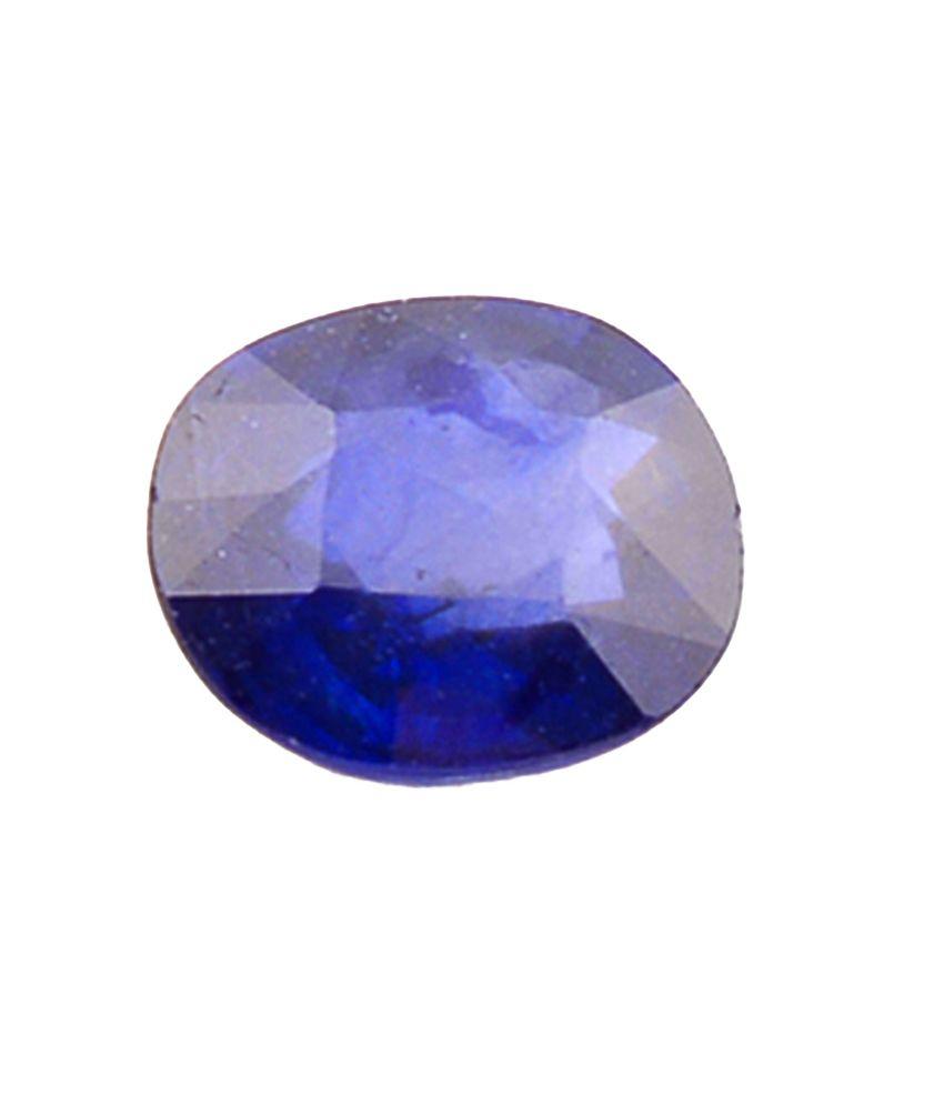 Shiva Rudraksha Ratna Natural Blue Sapphire - 4.15 Carat