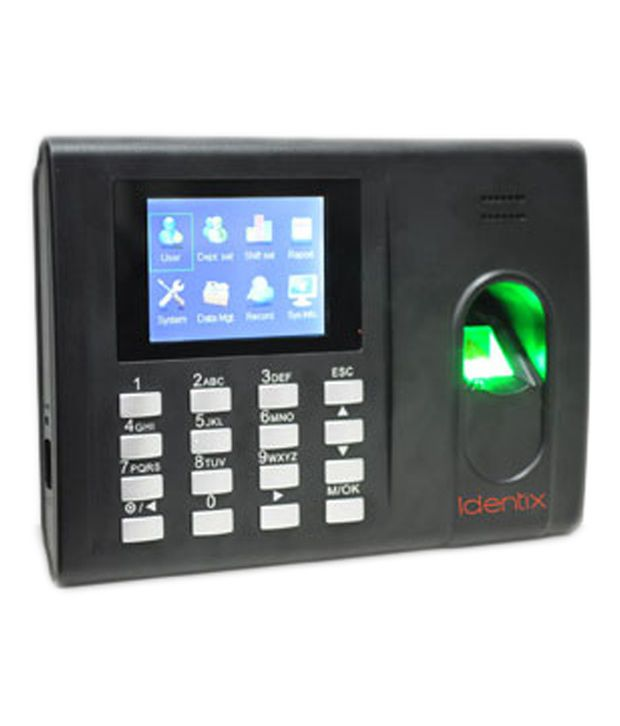 Essl K 30 Biometric Time Attendance Machine With Inbuilt Battery And Access Control