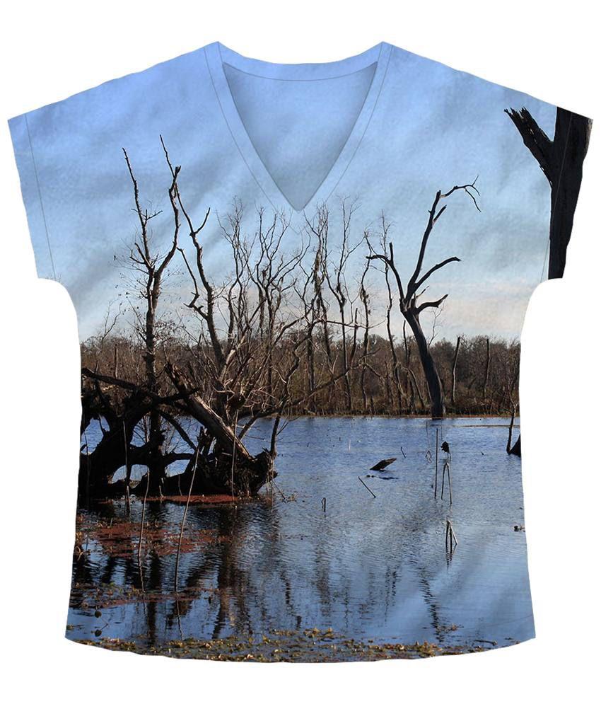 Freecultr Express Gray Grow Printed T Shirt