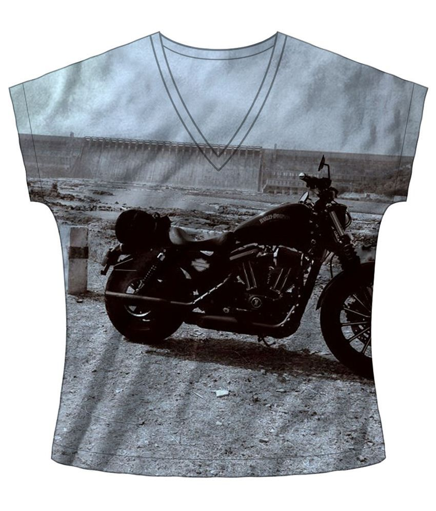 Freecultr Express Rustic Gray & Black Graphic T Shirt