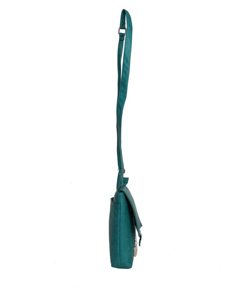 Adara Green Long Wallet