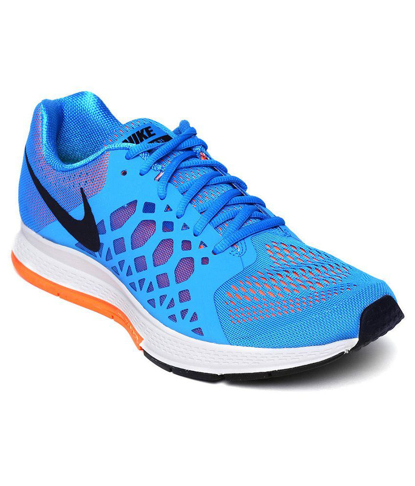 bacf2e940cd0 Nike Air Zoom Pegasus 31 Blue Sport Shoes - Buy Nike Air Zoom Pegasus 31  Blue Sport Shoes Online at Best Prices in India on Snapdeal