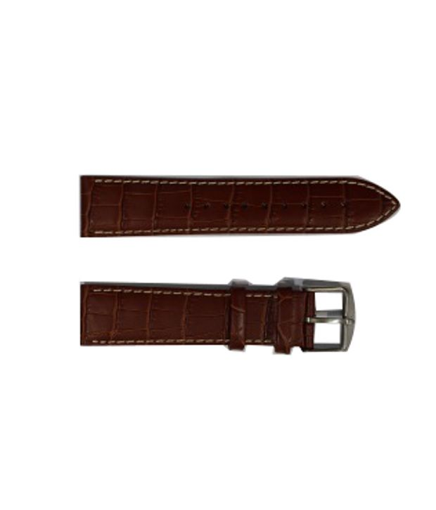b28b805937ff Titan 1586SL01 Brown Leather Watch Strap - Buy Titan 1586SL01 Brown Leather  Watch Strap Online at Best Prices in India on Snapdeal