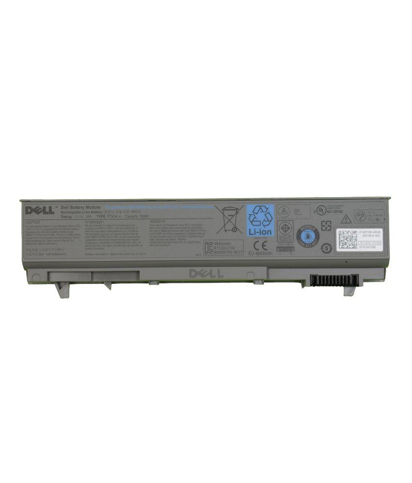 Dell Latitude E6400,latitude E6400 Atg,precision M2400,m4400,m6400 Original  Laptop Battery With Model Pt434, Ky266