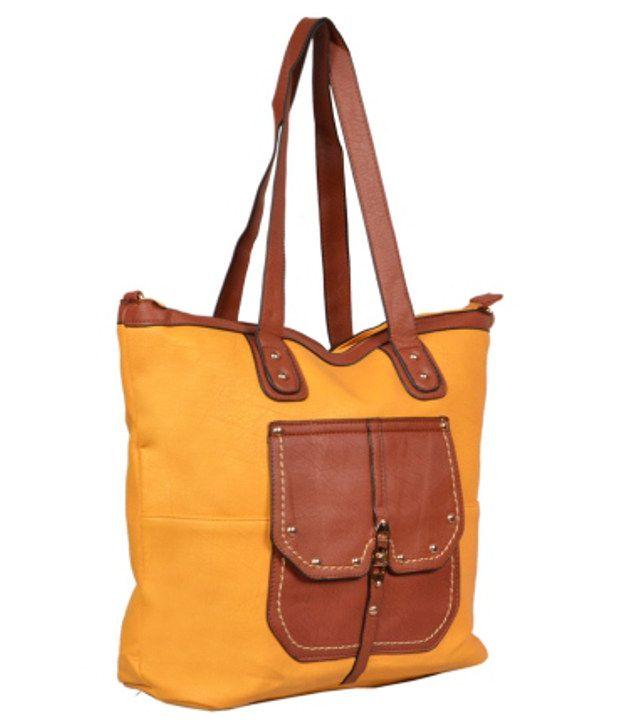 Hotberries HBCOS-1324 Yellow Shoulder Bags