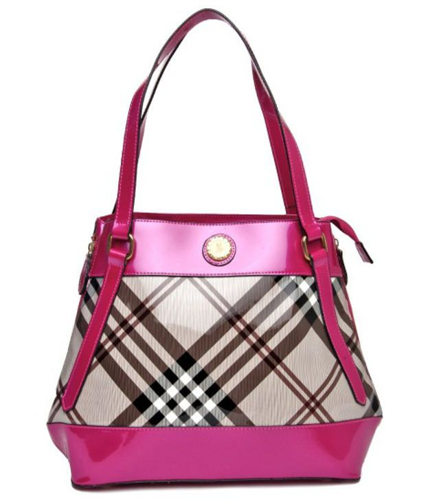 Hotberries HBCOS-412 Pink Shoulder Bags