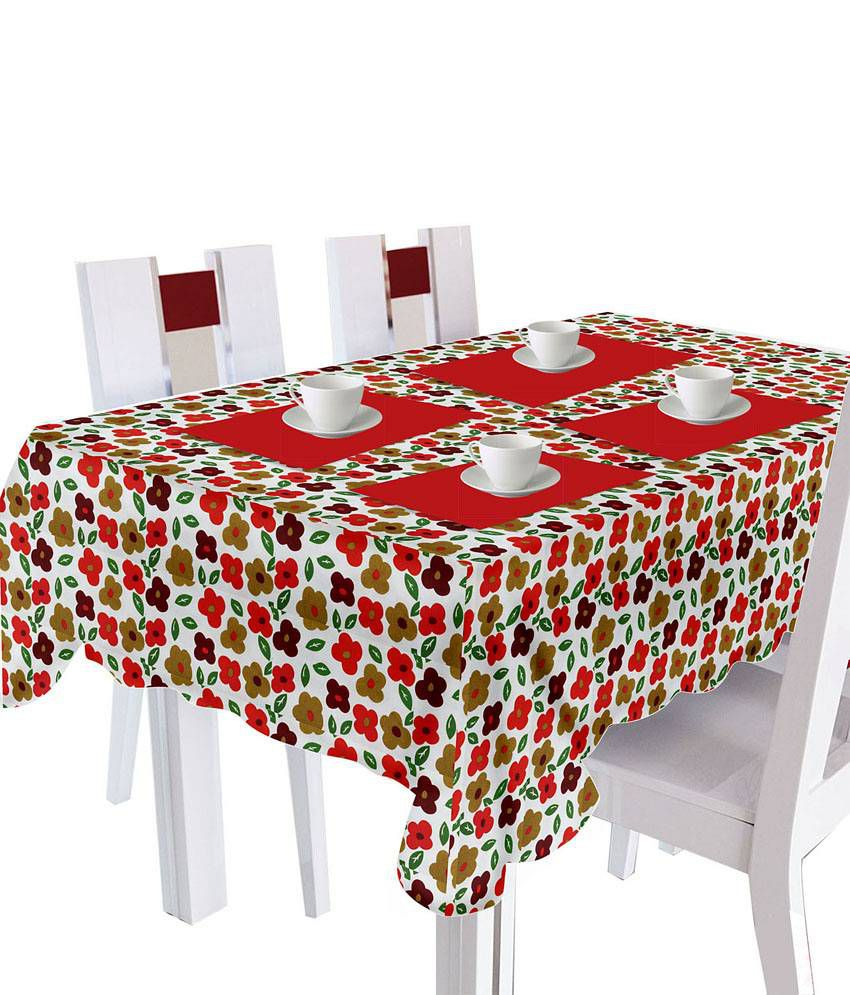 Smart home clever floral 8 seater table cloth buy smart for 10 seater table cloth