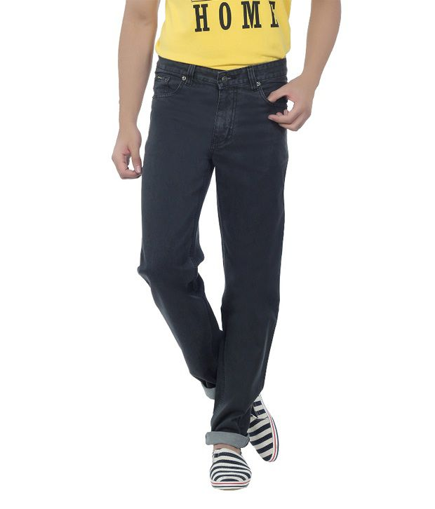 DFU Carbon Black Cotton Denim Jeans
