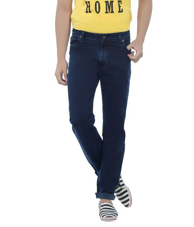 DFU Dark Blue Lycra Jeans