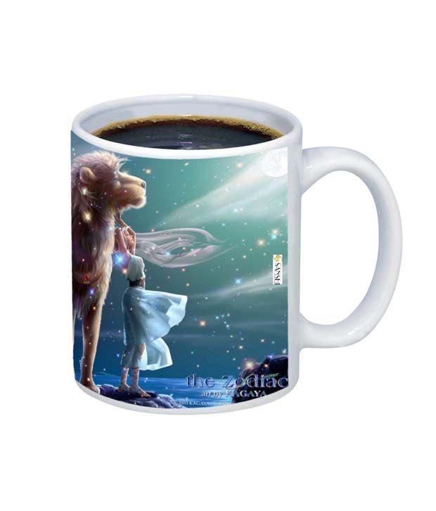 Sanshi Creations Leo Coffee Mug