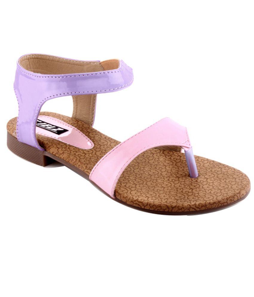 Kielz Lovely Pink Flat Sandals