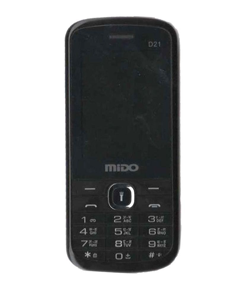 Usrd Inbox Mido D21 Black Dual Gsm Mobile Phone