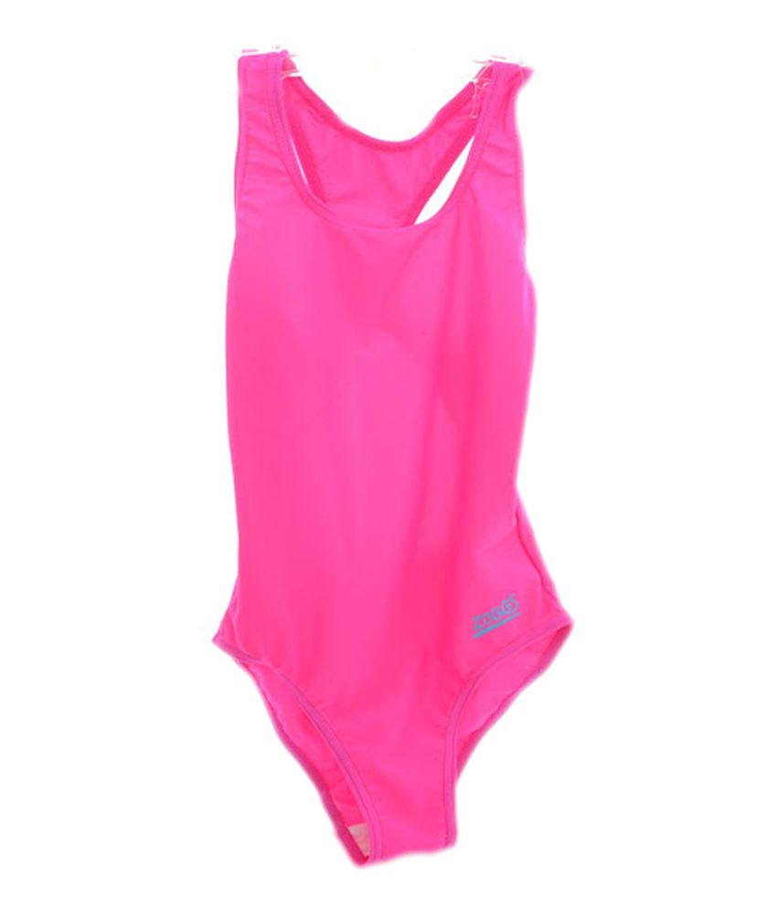 Zoggs Tots Bellambie Actionback Girls Swimwear Pink20 96400920/ Swimming Costume