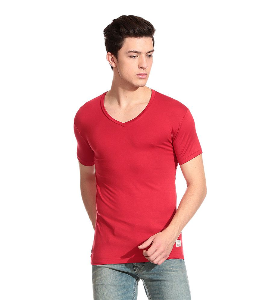 Fast track T Shirt - Red