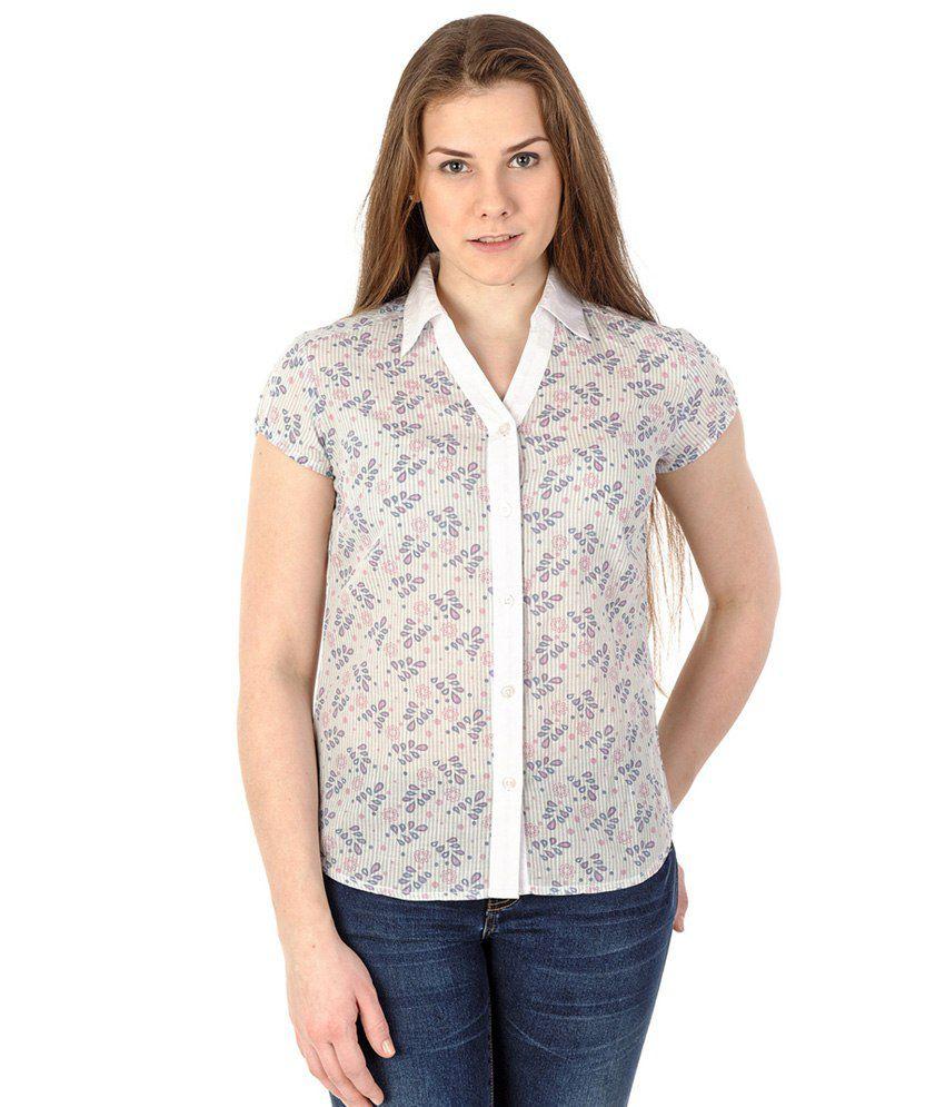 Mavango Multi Color Cotton Shirts