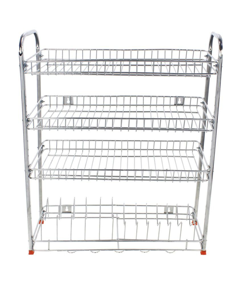 Buy dailyshoper stainless steel kitchen rack online at low price in india snapdeal