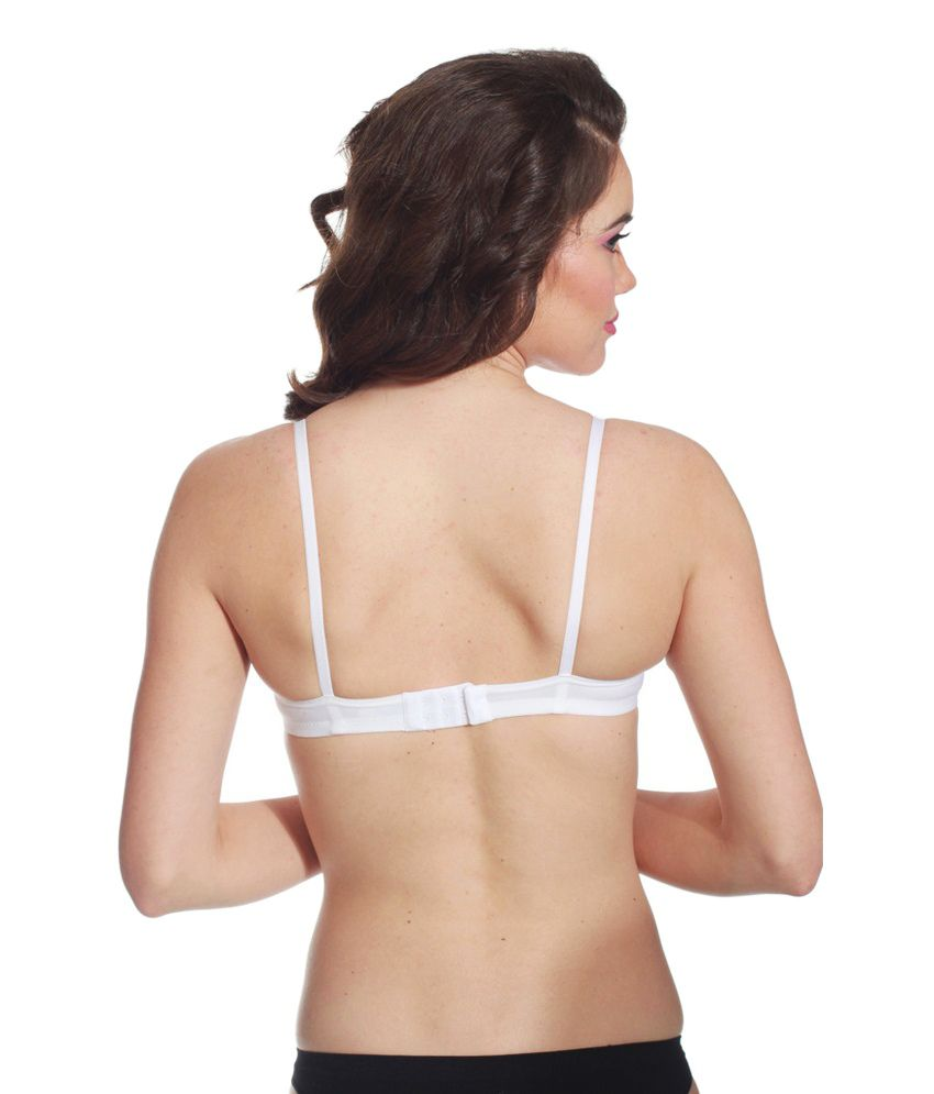3ee0ff93e Buy Kalyani White Cotton Bra Online at Best Prices in India - Snapdeal