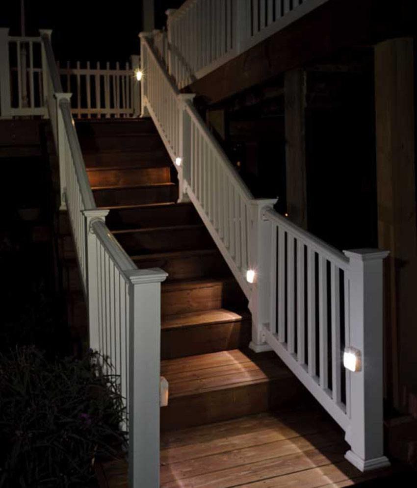 Motion Sensor Stair Lights Mrbeams Motion Sensor Light White Pack Of 3 Buy Mrbeams Motion