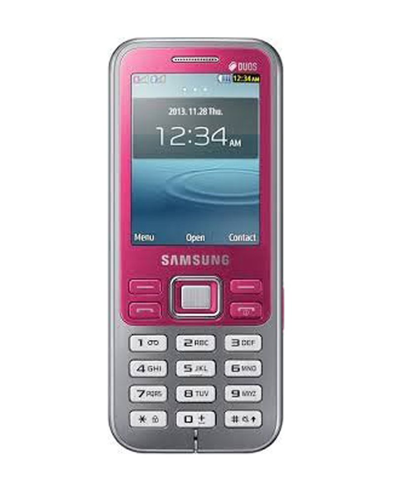 Mobile phone Samsung GT-C3322: specifications and reviews
