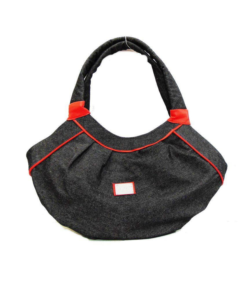 Estoss Black Hobo Bag