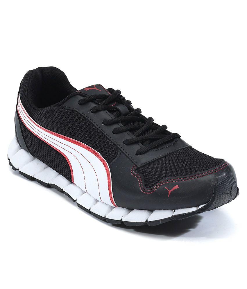 Puma Kevler 2 Dp Black-White-High R Sport Shoes ...