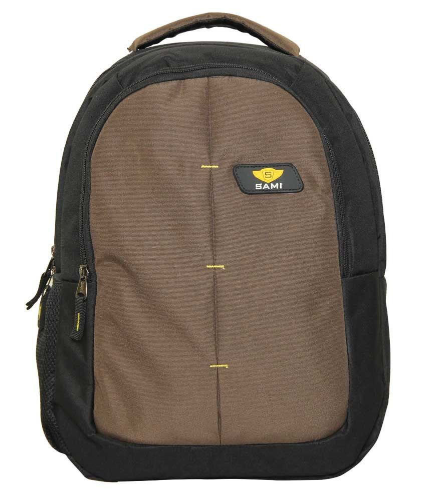 Sami Mehandi Polyester Laptop Back Packs