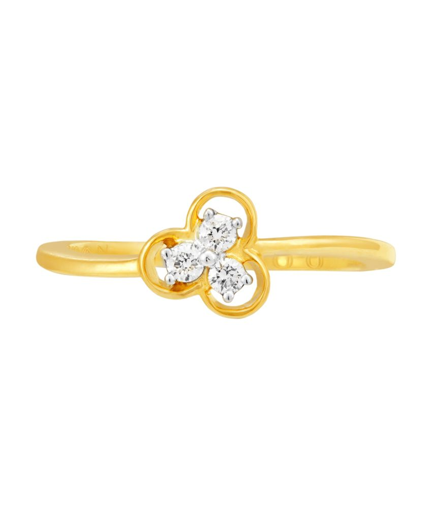 Classe 18kt Gold Diamond Ring For Women