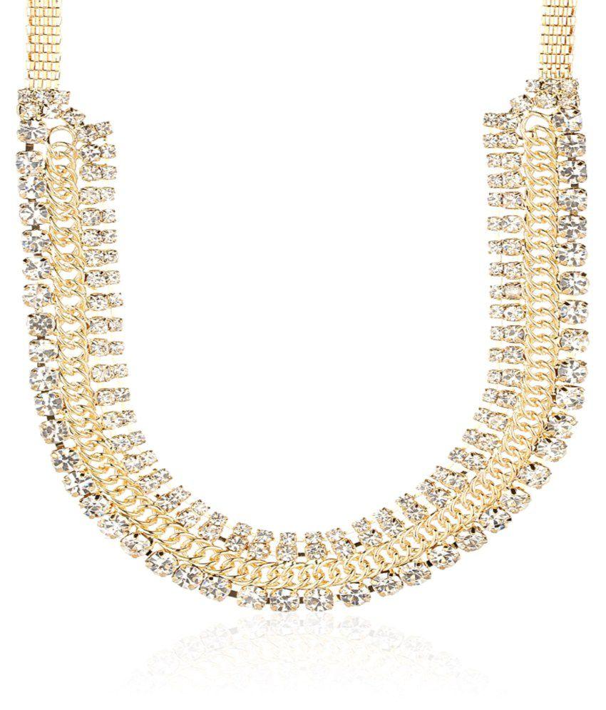 Krafftwork Golden Necklace