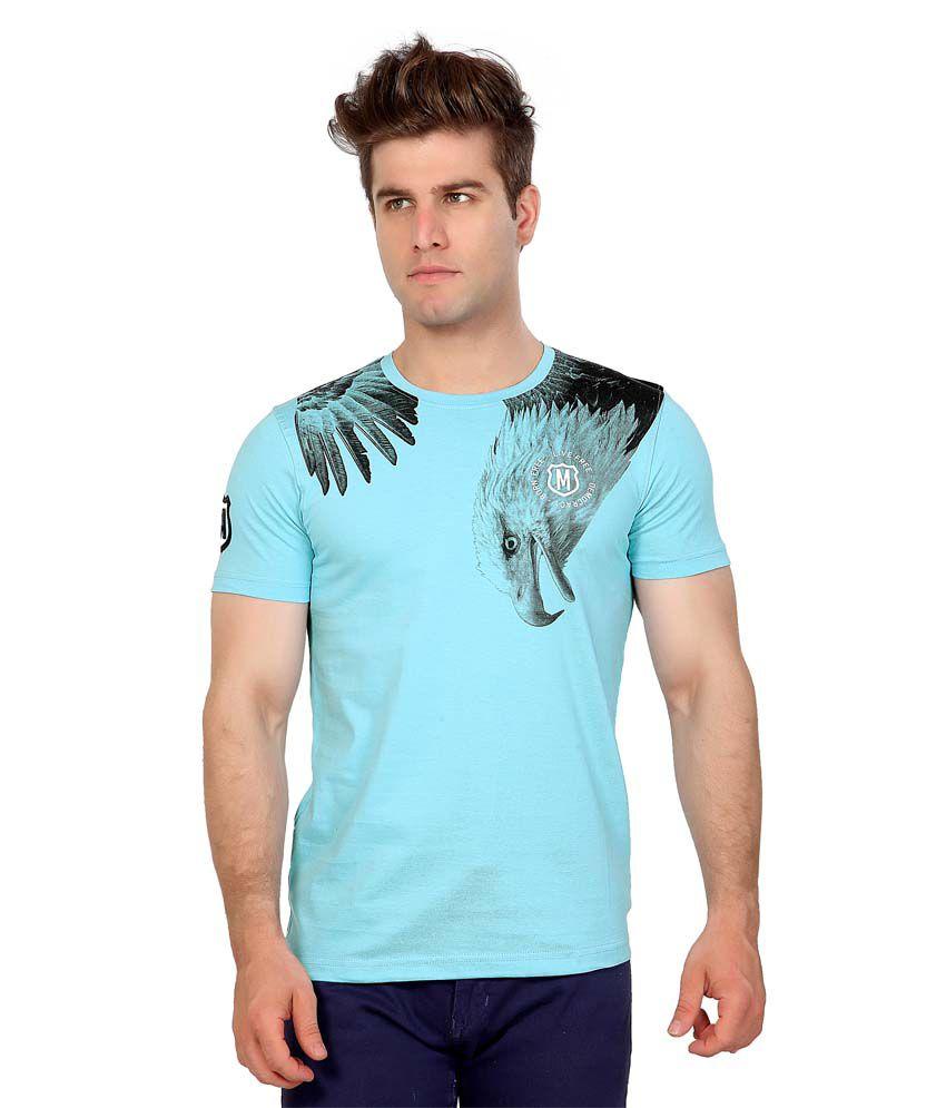 Maniac Turquoise Eagle Print
