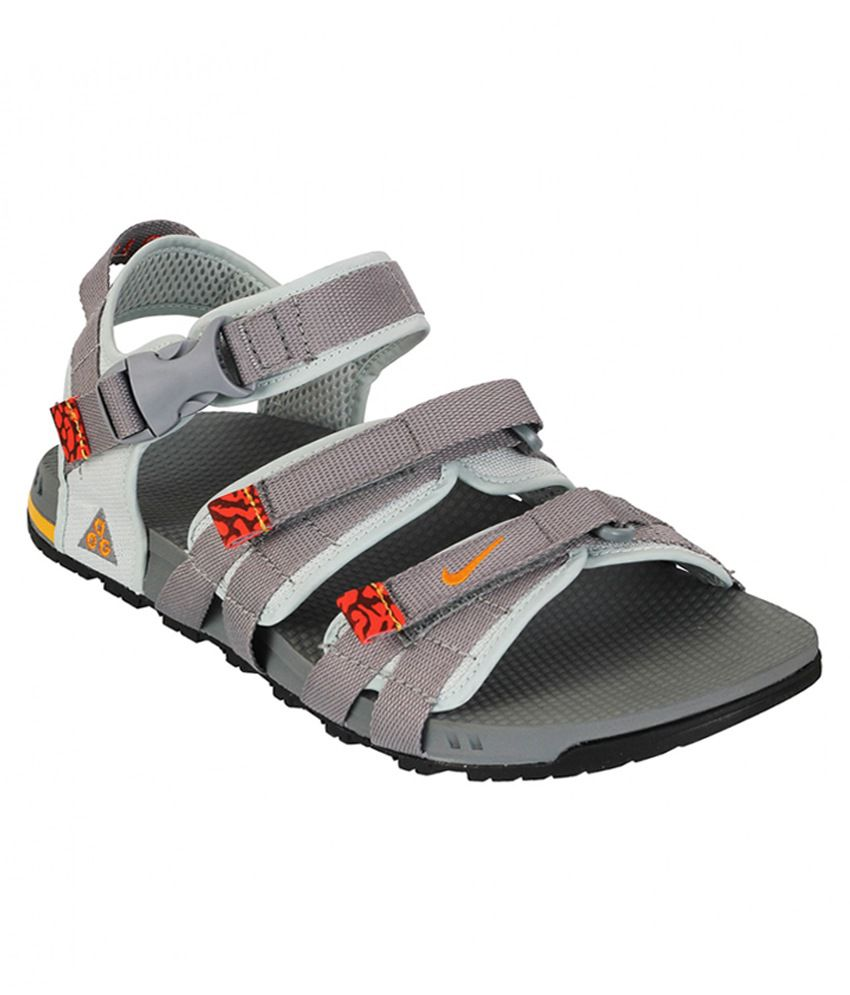 2aa4637efbf Nike Gray Floater Sandals - Buy Nike Gray Floater Sandals Online at Best  Prices in India on Snapdeal