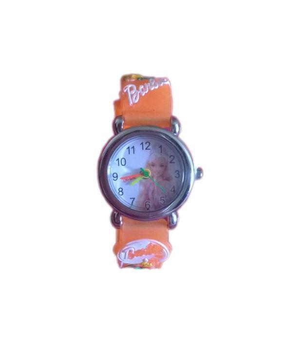 Barbie Watch Orange Md