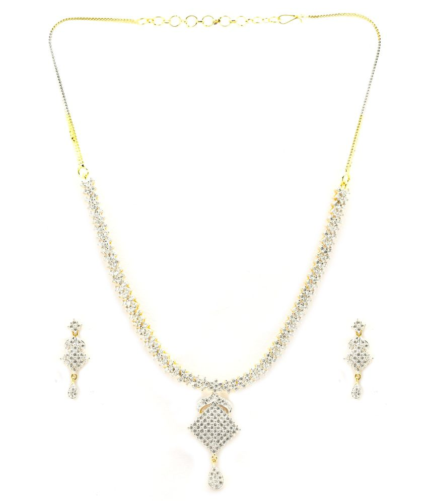 H.K. Inc. Traditional Necklace Set
