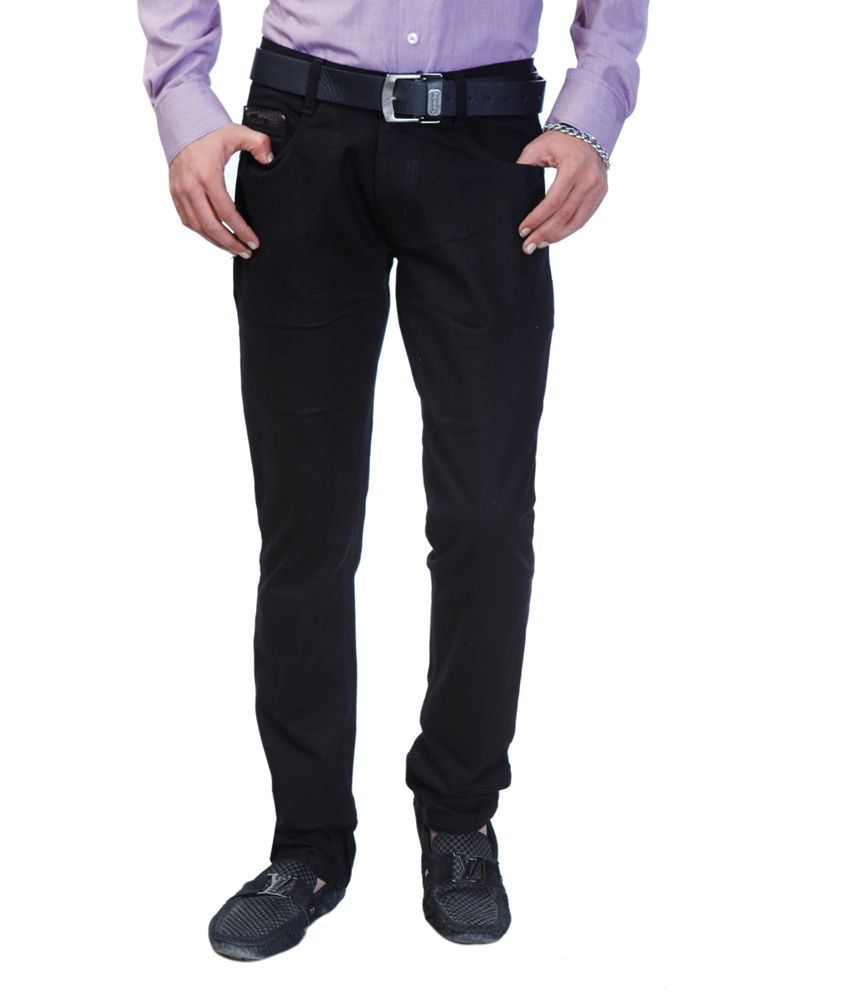 lowest discount where can i buy the best attitude Sparky Black Cotton Basics Slim Fit Jeans - Buy Sparky Black ...