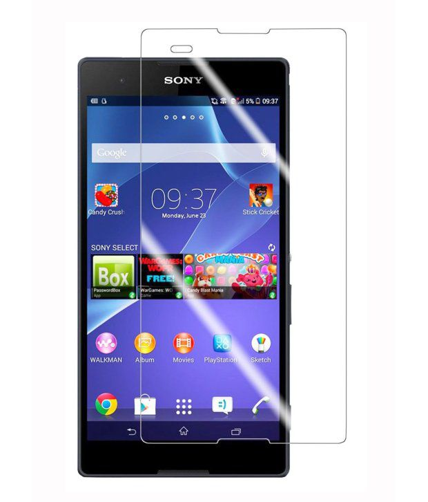 Age Tempered Glass Screen Protector For Sony Xperia T2
